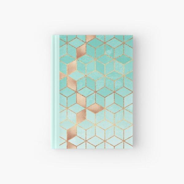 Soft Gradient Aquamarine Hardcover Journal
