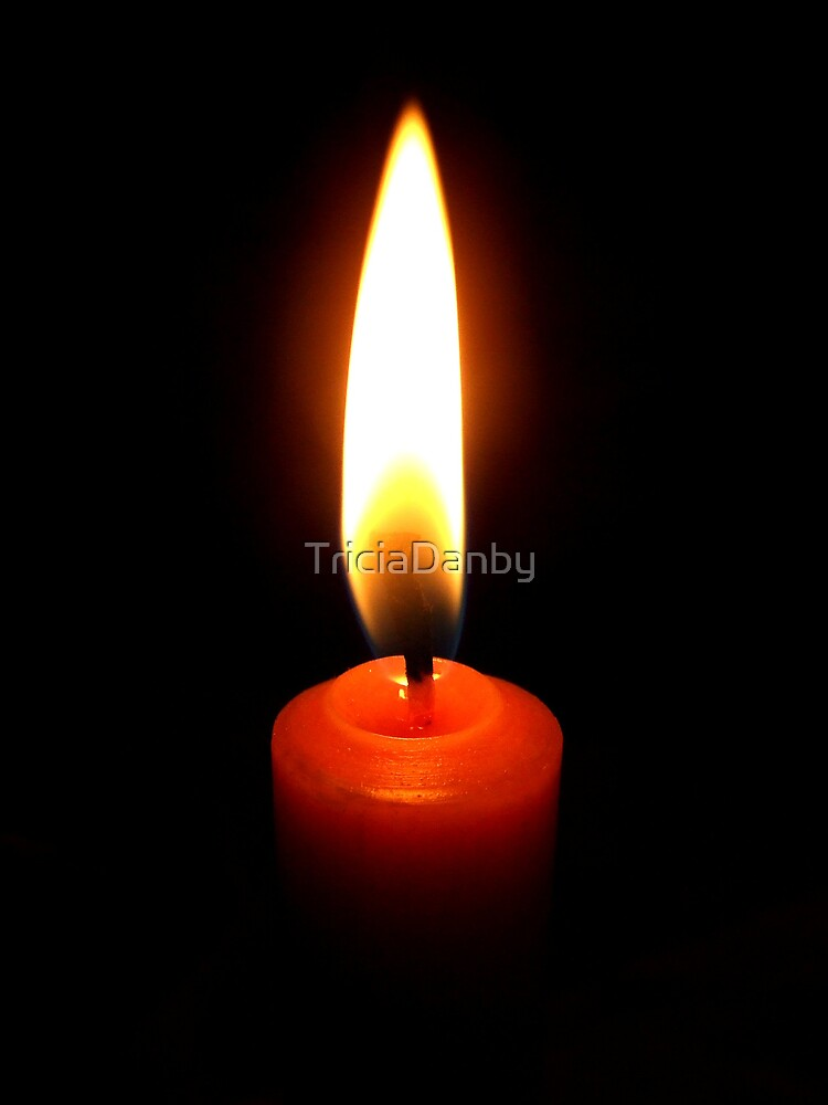 Candle of Hope by TriciaDanby