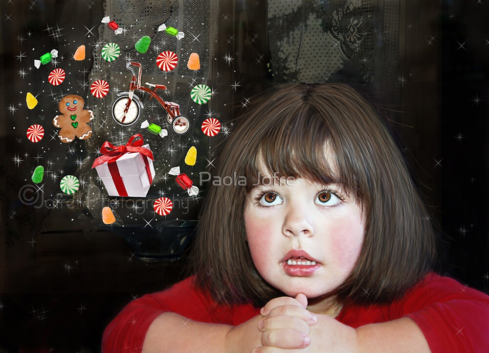 Christmas wishing by Paola Jofre