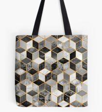 Black & White Cubes Tote Bag