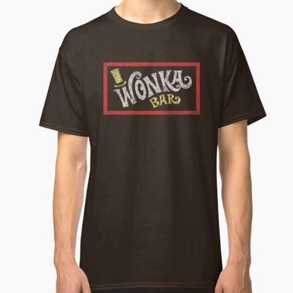 Wonka Bar (Willy Wonka & the Chocolate Factory) Classic T-Shirt