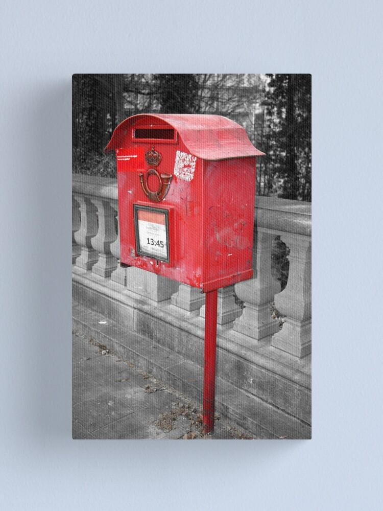 Alternate view of Letter Box Canvas Print