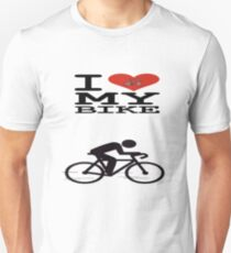 I Love My Bike - T Shirt Unisex T-Shirt