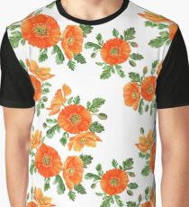 Watercolor poppies Graphic T-Shirt