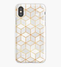 White Cubes iPhone Case/Skin