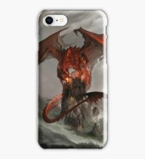 Red Dragon Fantasy iPhone Case/Skin