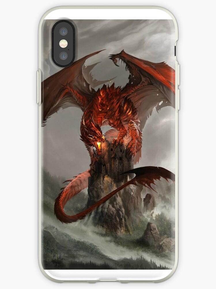 coque iphone xs dragon