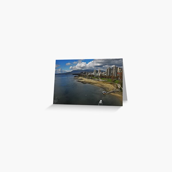 Blooming Vancouver Greeting Card