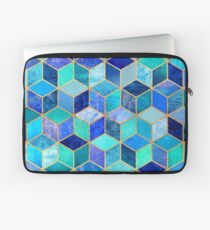 Blue Cubes Laptop Sleeve