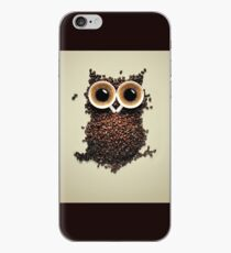 An owl from coffee bean iPhone Case