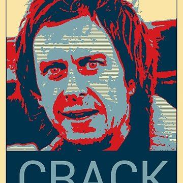 Peep Show Super Hans Crack Poster by hailtothethief