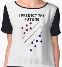 Support Vector Machine, Predict the Future Women's Chiffon Top