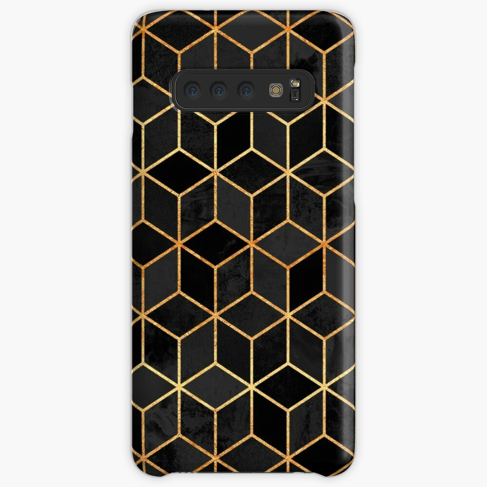Black Cubes Case & Skin for Samsung Galaxy