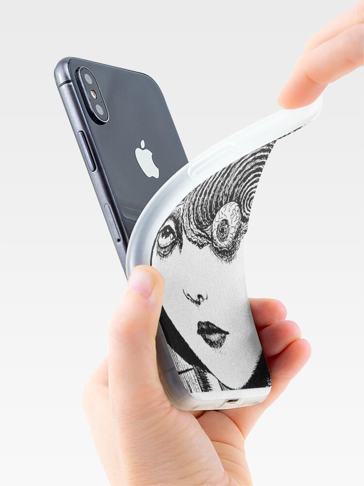 Alternative Ansicht von Uzumaki - Auge iPhone-Hülle & Cover