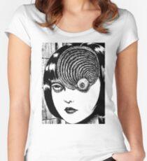 Uzumaki – Eye Women's Fitted Scoop T-Shirt