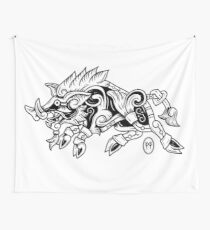 Gullinbursti Wall Tapestry