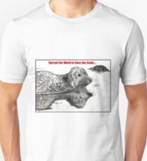 Spread the Word to Save the Seals Unisex T-Shirt