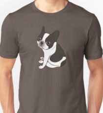 Say hello to the cute double hooded pied French Bulldog T-Shirt