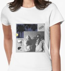 $UICIDEBOY$ ORIGINAL T-SHIRT HOODIE AND MORE Womens Fitted T-Shirt