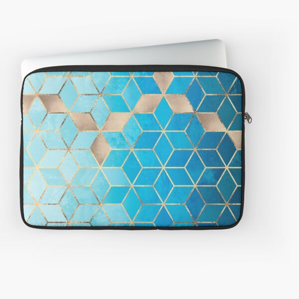 Sea And Sky Cubes Laptop Sleeve