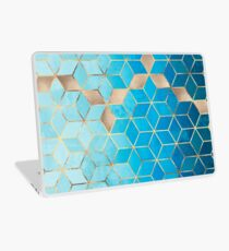 Sea And Sky Cubes Laptop Skin