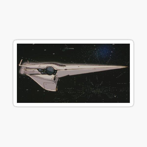 Brunhilde Ship - Legend of Galactic Heroes Sticker