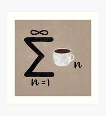 Infinite Coffee Art Print