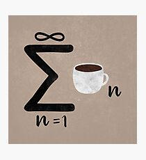 Infinite Coffee Photographic Print