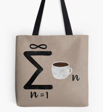Infinite Coffee Tote Bag