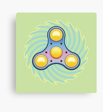Fidget hand spinner Canvas Print