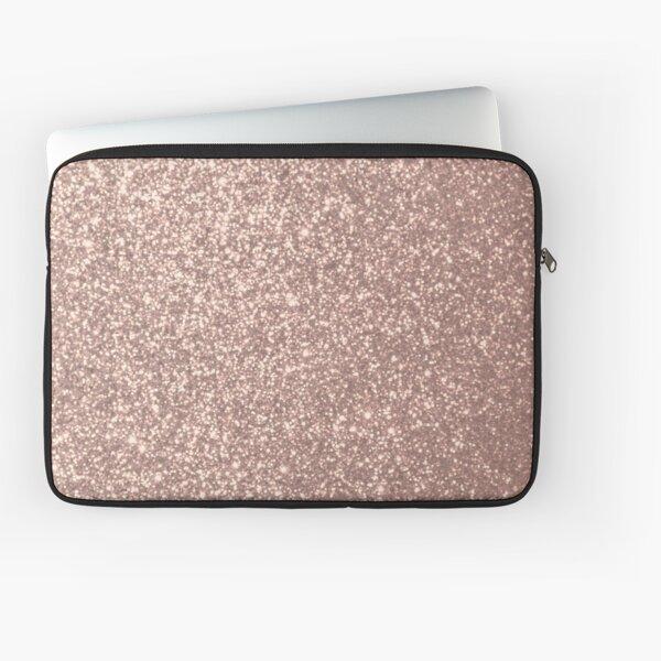 Kupfer Rose Gold Metallic Glitter schimmert und schimmert wie Glut. Pink Rose Gold Glitter verleiht allen individuellen Geschenken für die Feiertage Glanz und Glanz.  Laptoptasche