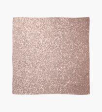 Pink Rose Gold Metallic Glitter Scarf