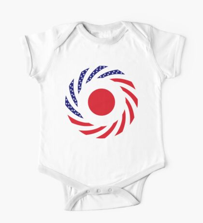 Japanese American Multinational Patriot Flag Series Kids Clothes