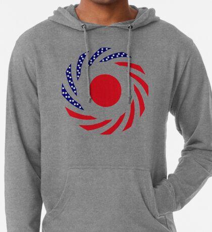 Japanese American Multinational Patriot Flag Series Lightweight Hoodie