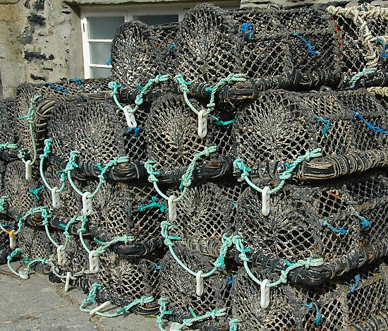 Crab Pots by denisegladwell