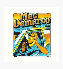 Mac Demarco Art Print