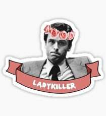 ted bundy ladykiller Sticker