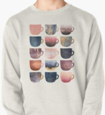 Pretty Coffee Cups 2 Pullover