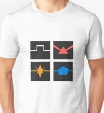 Power pack logos Unisex T-Shirt