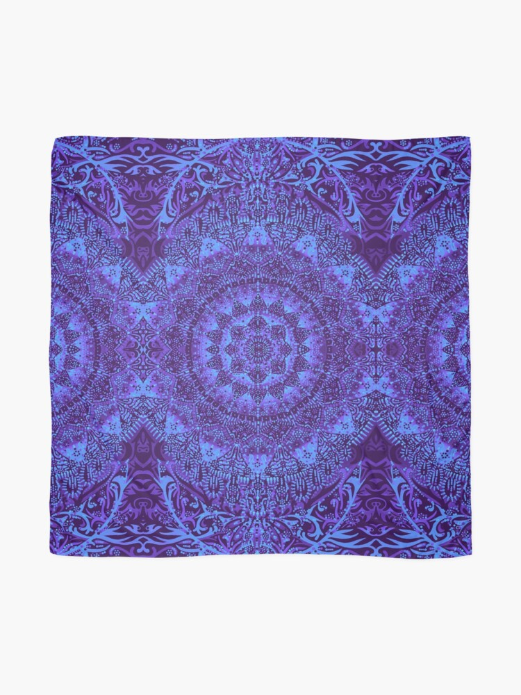 Alternative Ansicht von Indigo Mandala Tuch