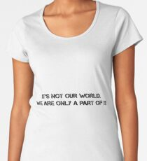 world Women's Premium T-Shirt