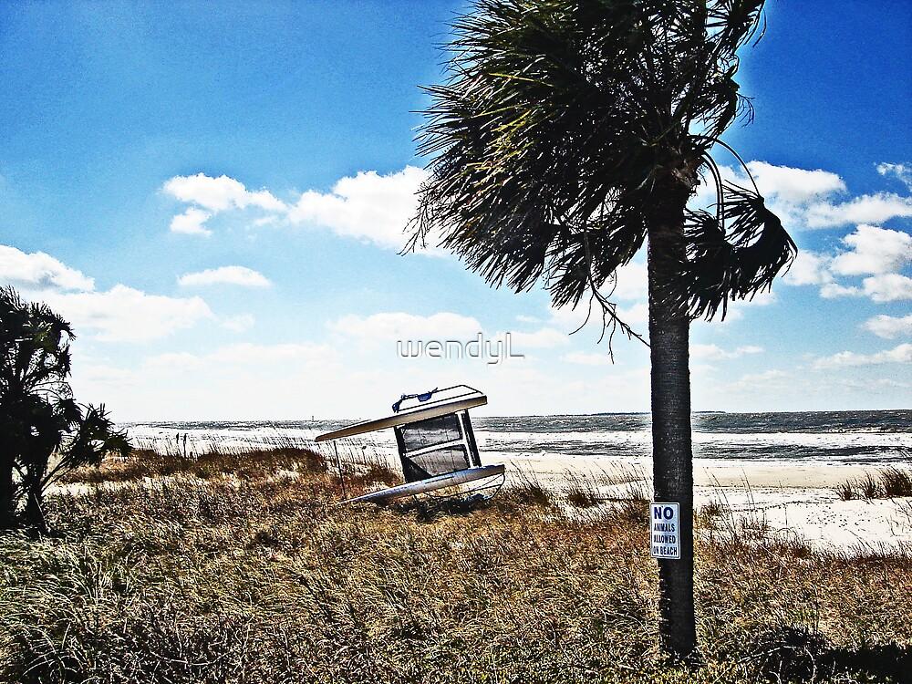 My altered beach by wendyL