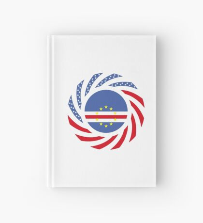 Cape Verdean American Multinational Patriot Flag Series 1.0 Hardcover Journal