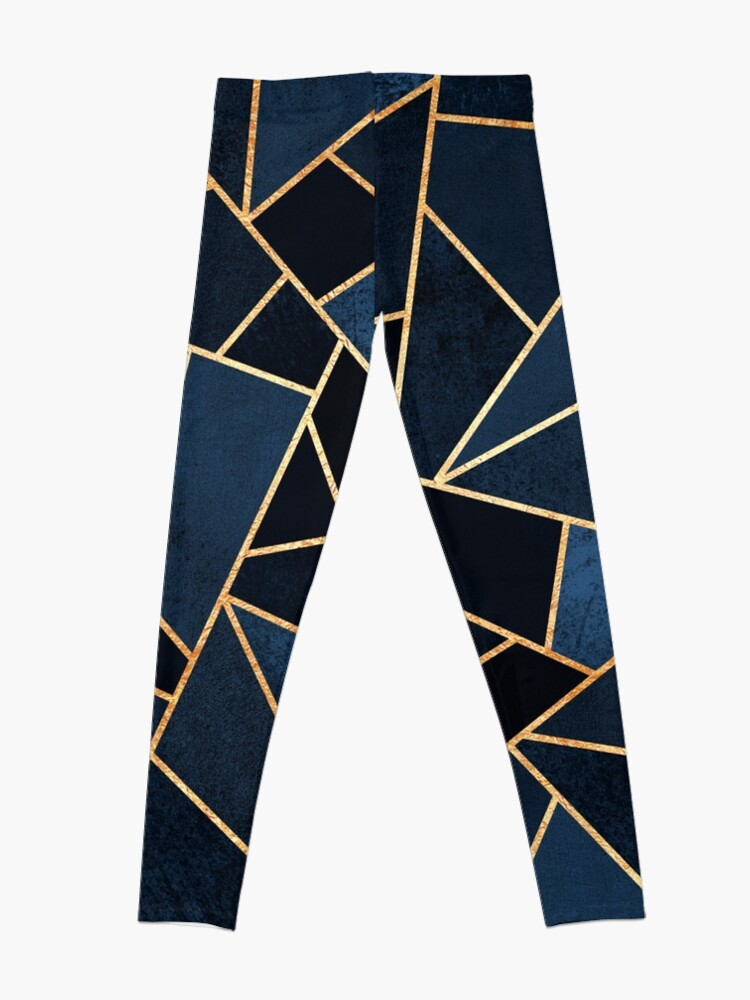 Alternate view of Navy Stone Leggings