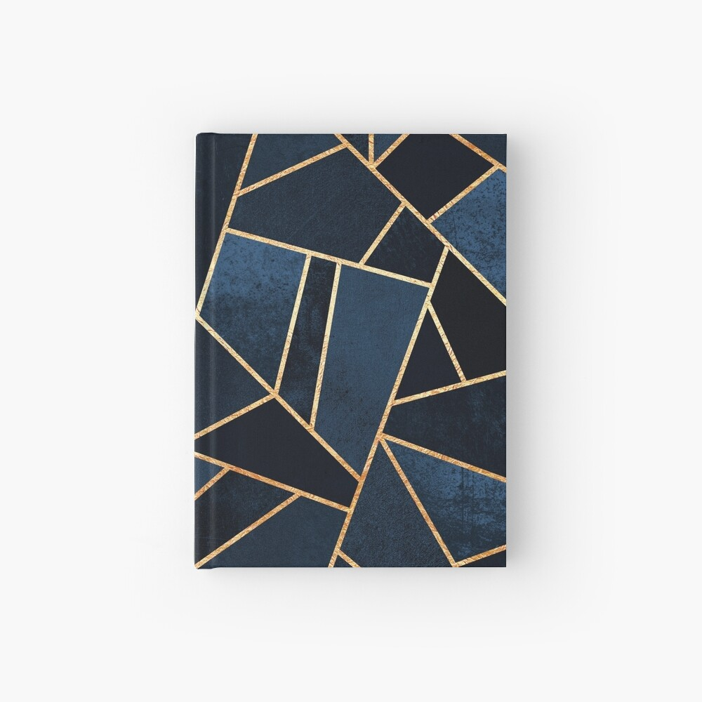 Navy Stone Hardcover Journal