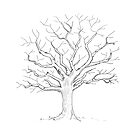 Fingerprint Tree Guestbook - Great for your Wedding, Baby Shower, Birthday or any special Celebration by Andrea Casals