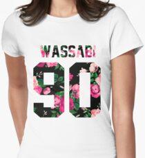 Alex Wassabi - Colored Flowers Women's Fitted T-Shirt
