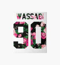 Alex Wassabi - Colored Flowers Art Board