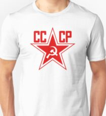 Russian Soviet Red Star CCCP (Clean) Unisex T-Shirt