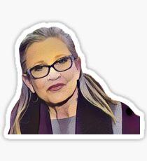 Carrie Fisher—Motive Sticker